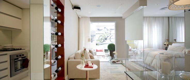 https://flic.kr/s/aHsjwx1LHk | Decorado - Red Tatuapé | Lançamento da Even no Tatuapé. São apartamentos Studio, 1, 2 ou 3 Dormitórios com diversos itens de lazer e conforto. A arquitetura do Red Tatuapé inaugura um novo conceito para o bairro cujo resultado é um prédio moderno. O Red Tatuapé conta com diversos itens de lazer, como piscina coberta com raia de 25 m, Bicicletário, Fitness, sala de personal, Playground, sauna com descanso, massagem, Brinquedoteca, Solarium, Forno de pizza, Home…