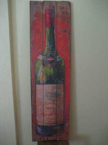 Vintage style wine bottle resturant home decor 5ft barn