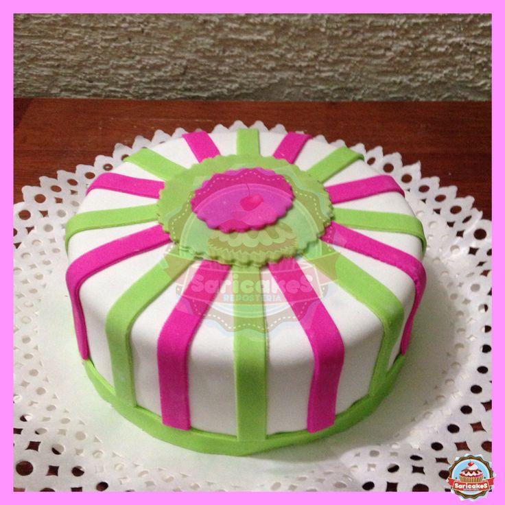 Torta cintas y colores