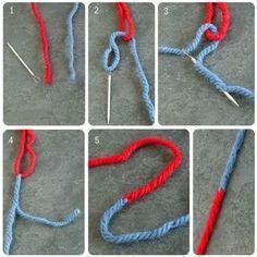 La méthode du joint russe permet de rassembler deux pelotes de laine de manière rapide, efficace et invisible. Trop pratique !