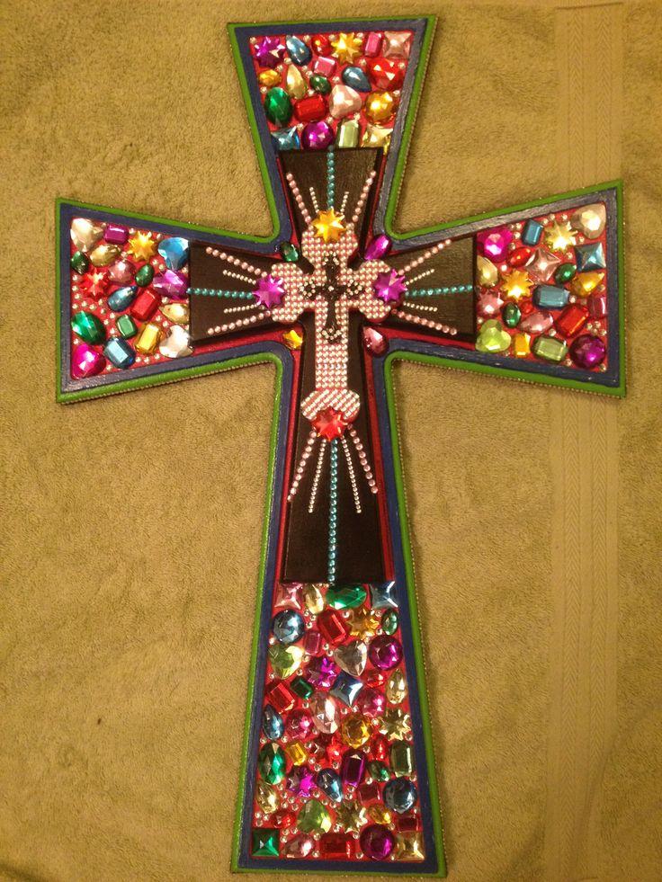 Bling Cross by Ronda Cromeens