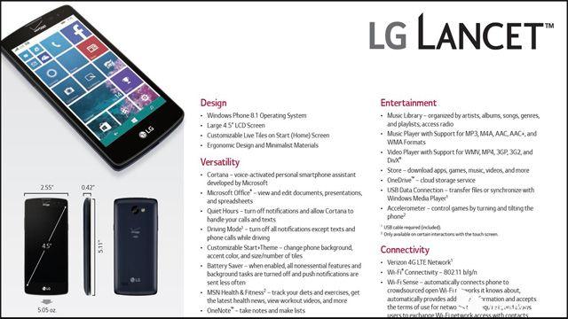 LG Windows Phone Dikabarkan Akan Diluncurkan Pada 21 Mei