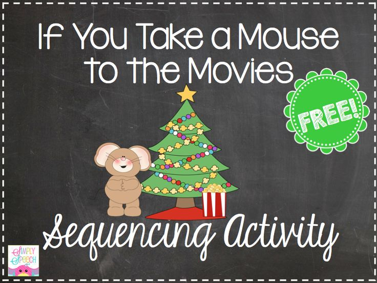 Simply Speech: If You Take a Mouse to the Movies… Holiday Craft & a Freebie!