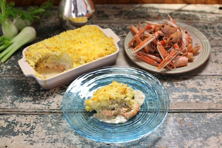 Luxury Fish Pie. A fish pie, I think, always needs a bit of smoked fish to really make it taste good and what could be more luxurious than smoked Scottish langoustines? If you can't get hold of any, use giant tiger prawns instead, and replace half the plain haddock with smoked haddoc: http://gustotv.com/recipes/lunch/luxury-fish-pie-2/