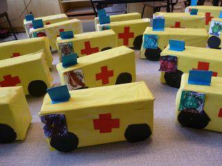 ambulance van doosje