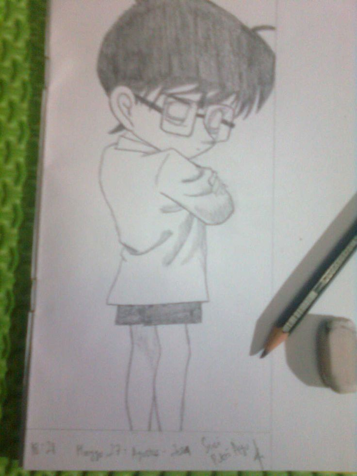 Detective Conan #conan #anime #art #amatir
