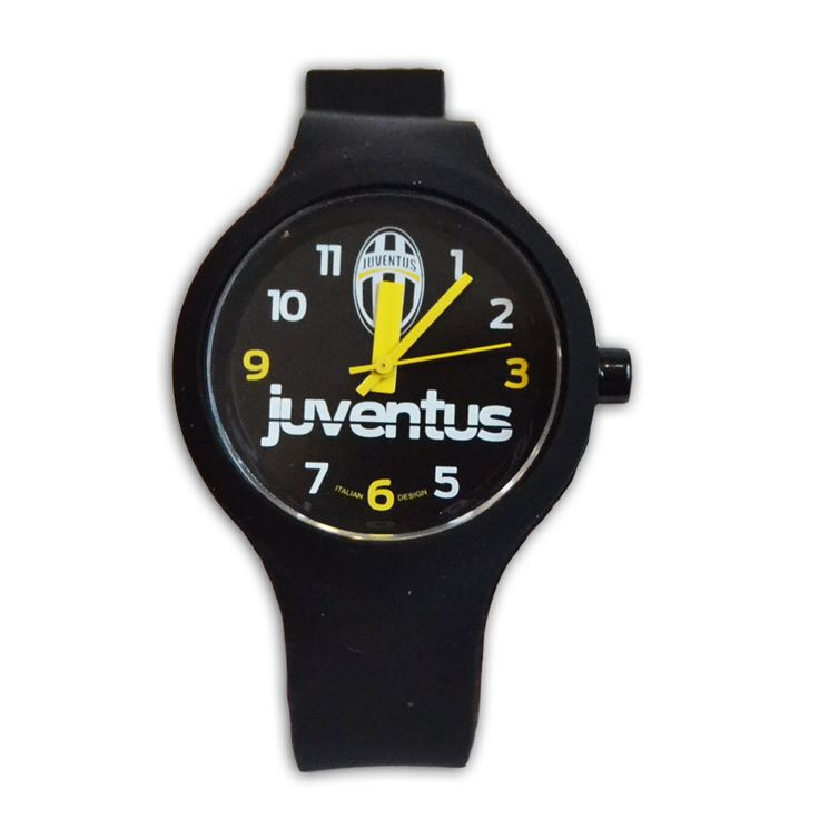 Juventus Orologio bimbo tutto nero