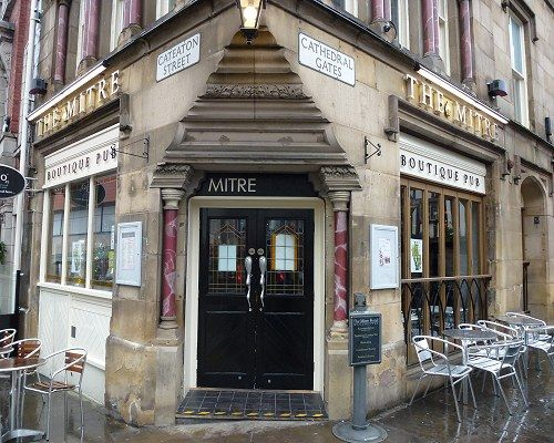 The Mitre Manchester, NEXT TO OYSTER