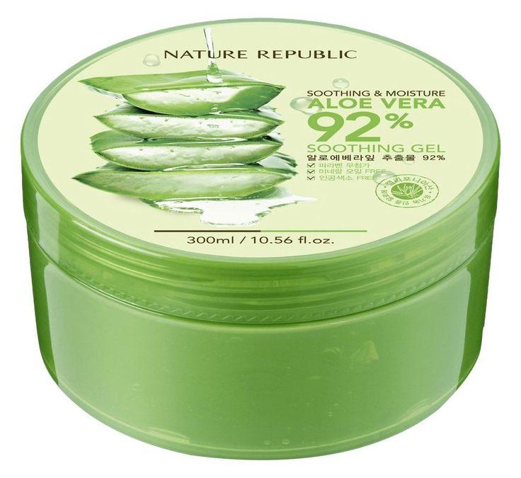 Natural Republic Aloe Vera Gel, 300ml 10.56 Fluid Ounce Aloe Vera Extracts 92%  #NatureRepublic