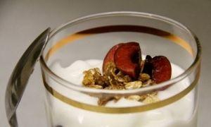 Κομπόστα με αποξηραμένα φρούτα για το πρώτο γιαούρτι του μωρού