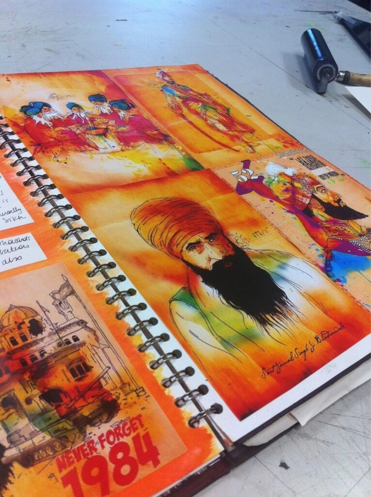 #Inkquisitive @Amandeep Singh Kaur Singh love