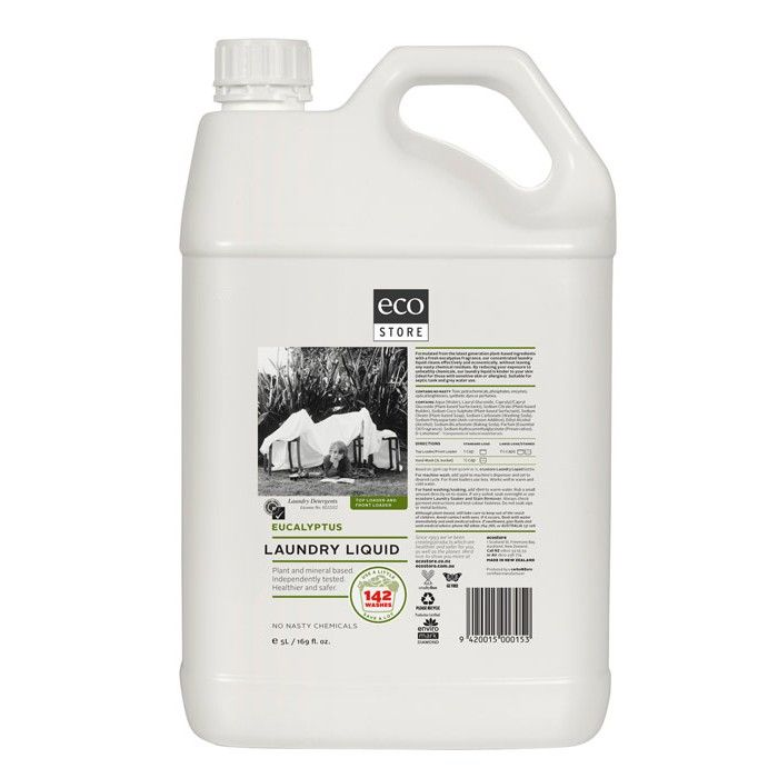 #Thinkbig and save packaging waste and dollars too with #ecostore Laundry Liquid Eucalyptus 5L Available in NZ from: http://www.ecostoredirect.co.nz/bulk-sizes/ultra-concentrated-laundry-liquid.html