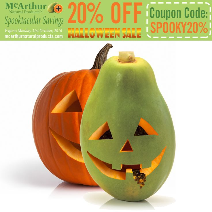 Spooktacular Savings -  Save 20% OFF on these selected skin and hair cleansers with coupon code SPOOKY20% at checkout. http://mcarthurskincare.com/news/october-27-2016/ Sale offer expires midnight WST Monday 31st October, 2016. Not available in conjunction with any other offer. Offer available in our online store only.  #halloween