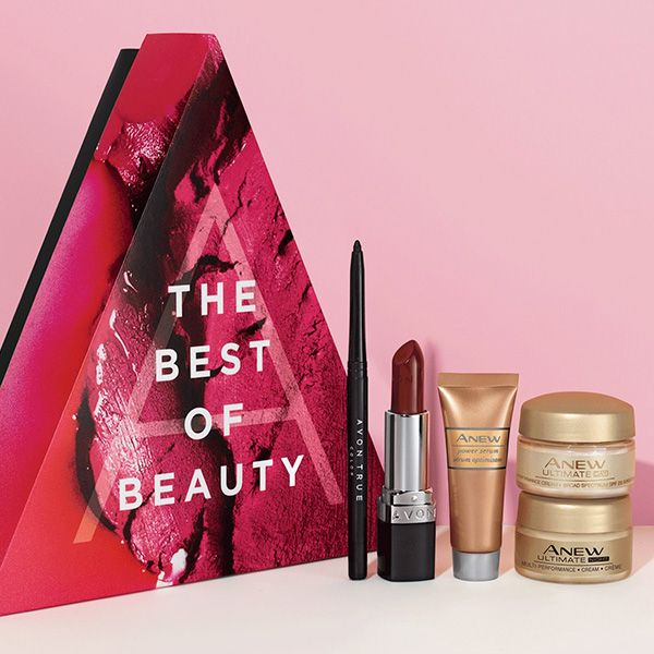 The Avon A Box yours for only $10 with a qualifying online order of $40 or more