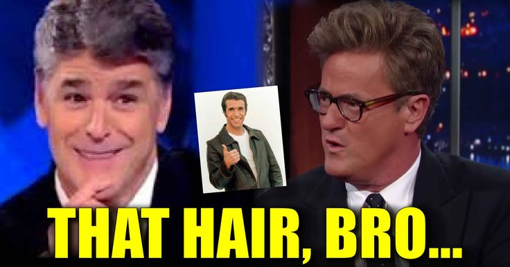 "LOL VIDEO : Hannity RIPS ""Morning Joke"" Joe's Dumb Looking Hair"