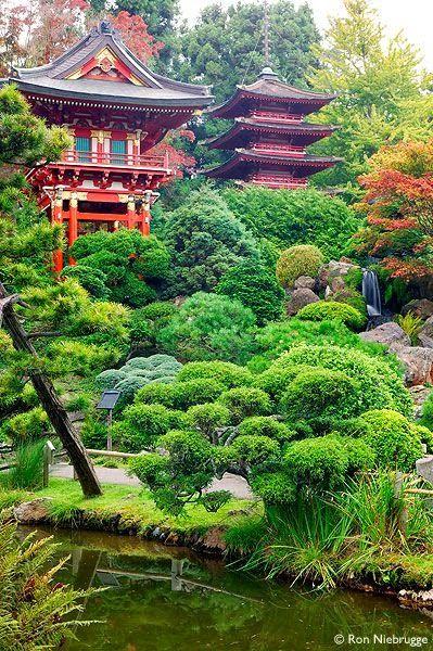 Les 321 meilleures images du tableau japanese garden sur - Tableau jardin japonais ...