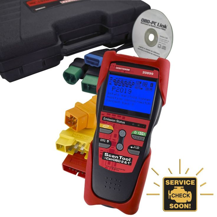 Craftsman Scan Tool Can Obd2 Obd1 Kit 042173114030 Tools Craftsman Tools Tool Kit