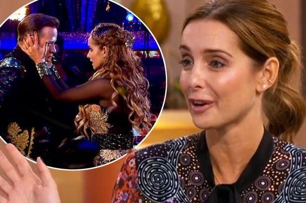 """Louise Redknapp on Strictly Come Dancing and having a baby girl after the show: """"It's like a last chance saloon"""" #louise #redknapp…"""