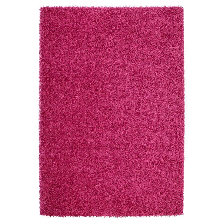 IKEA - HAMPEN Rug, high pile bright pink