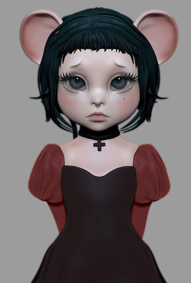 http://he77ga.cgsociety.org/art/chibi-zbrush-girl-mouse-speed-sculpt-little-anime-3d-1316008