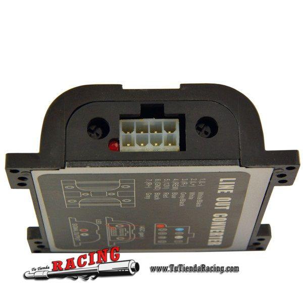 14,54€ - ENVÍO SIEMPRE GRATUITO - Tweeter Convertidor de Audio RCA Alto-Bajo Filtro de Audio Coche Equipo de Audio - TUTIENDARACING