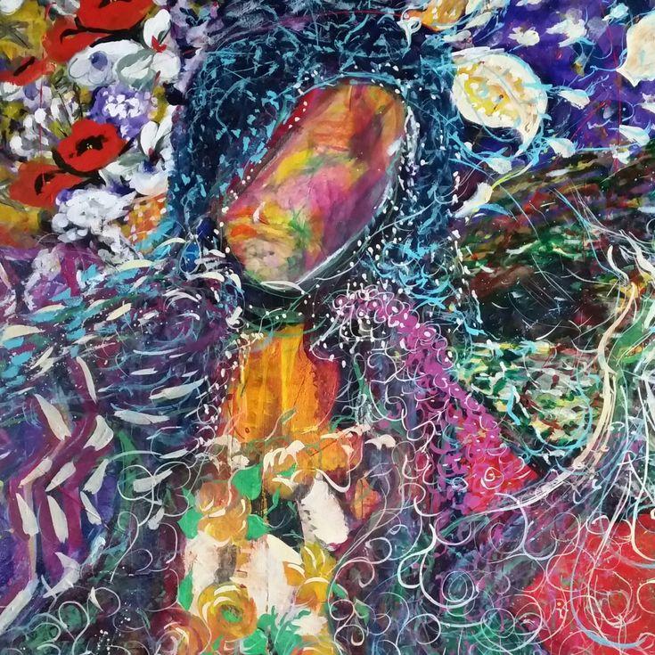 """Gypsy Dancer"" by Debra Dougherty. Paintings for Sale. Bluethumb - Online Art Gallery"