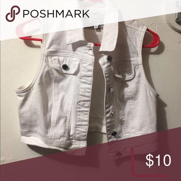 White Jean Jacket White Jean Jacket YMI Jackets & Coats Jean Jackets