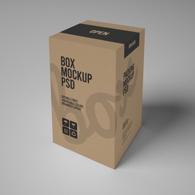 Download Paper Box Mockup Box Mockup Paper Box Business Card Mock Up