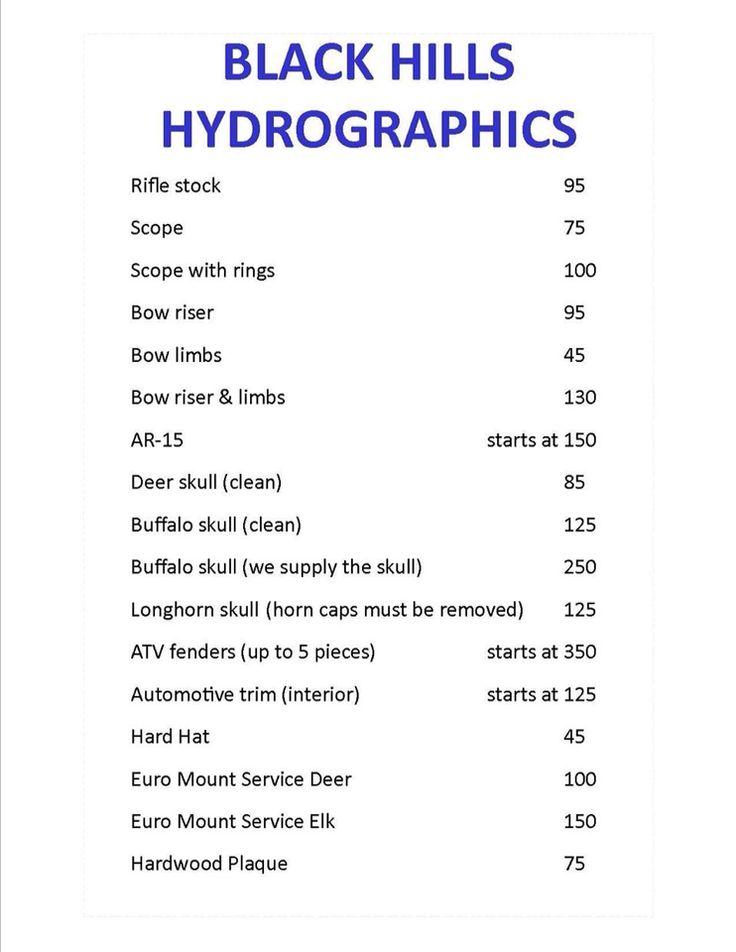 Black hill hydrographic