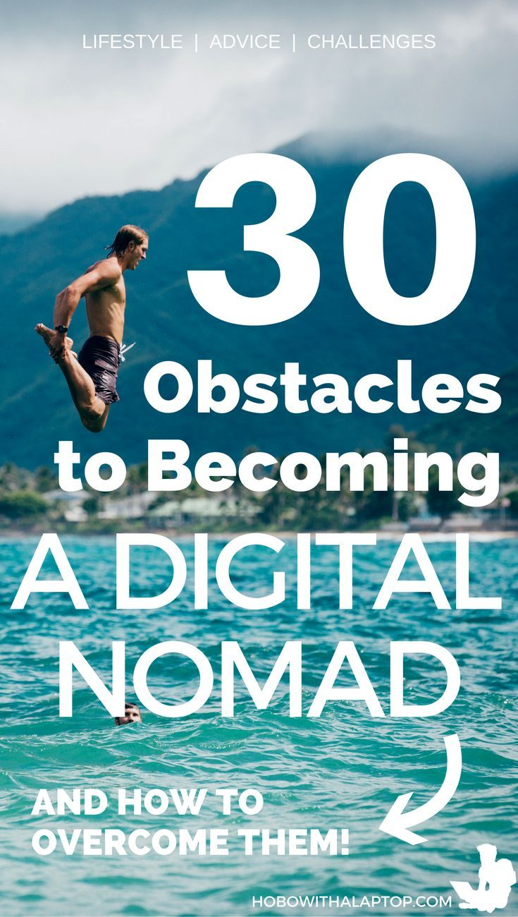 People who want to turn the next chapter of their lives into a location independent one are going to have a number of obstacles and realistic reasons why they feel they shouldn't become a digital nomad. This article isn't going to make a hard sell on the lifestyle; truth be told, it's a lot of work. And I wouldn't have it any other way. Being a digital nomad is all about how you spend your off-time. READ MORE: http://hobowithalaptop.com/30-obstacles-digital-nomad-travel