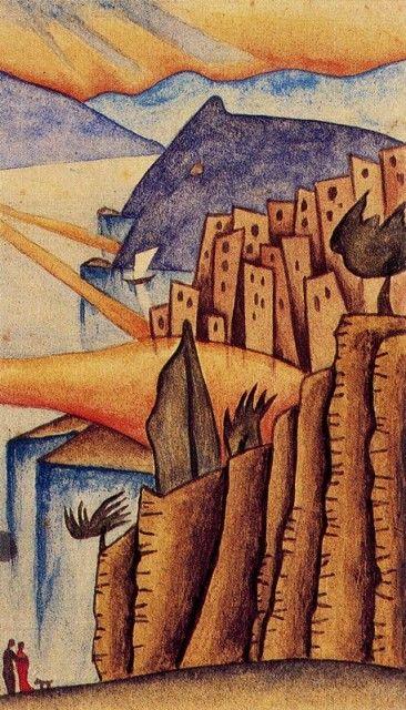 Casas - Xul Solar (Oscar Agustin Alejandro Schulz Solari) - argentino (1887-1963)