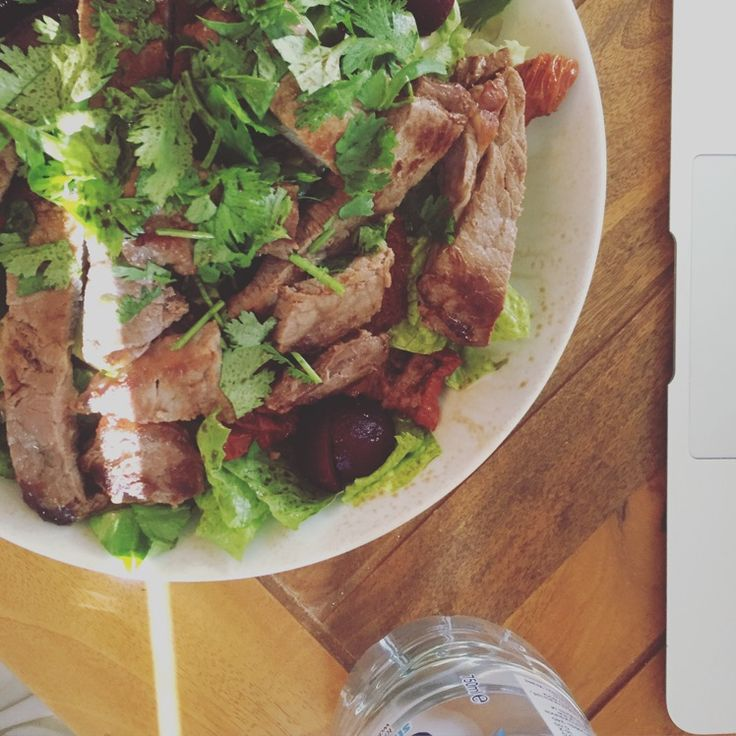 Mmmm Steak #steak #salad
