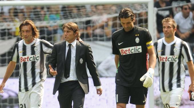 Pirlo , Conte , Buffon , Del piero. Juventus some day ❤️