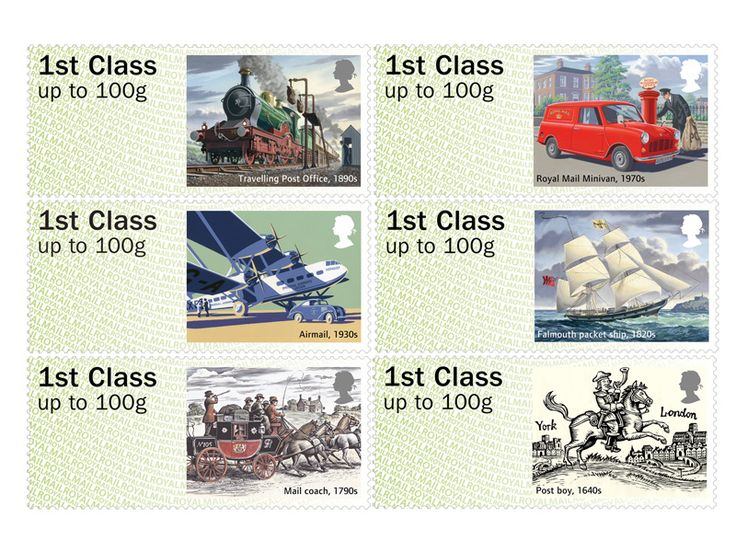 COLLECTORZPEDIA Post & Go - Royal Mail Heritage - Transport