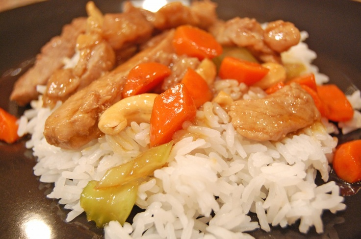 Honey Cashew Pork Stir-Fry: Honey Cashew, Pork Recipes, Pork Stir Fries, Cashew Stirfri, Cashew Pork, Stir Fries Recipes, Pork Stir Fry, Chicken Breast, Pork Stirfri