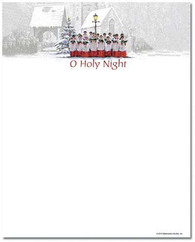 Singing Choir Letterhead