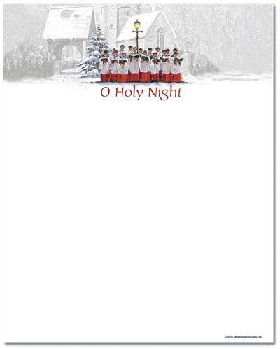 Singing Choir Letterhead