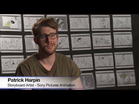 Inside Sony Pictures Animation - Storyboard Artist Patrick Harpin - YouTube