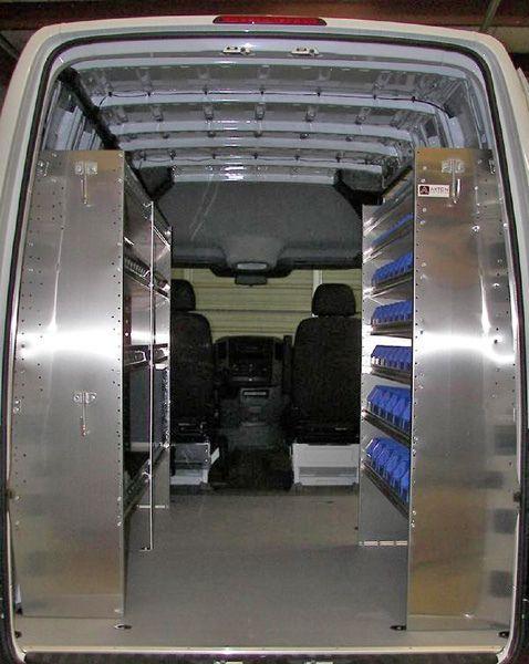 Storage Bins For Work Truck Industrial Vans Stocked