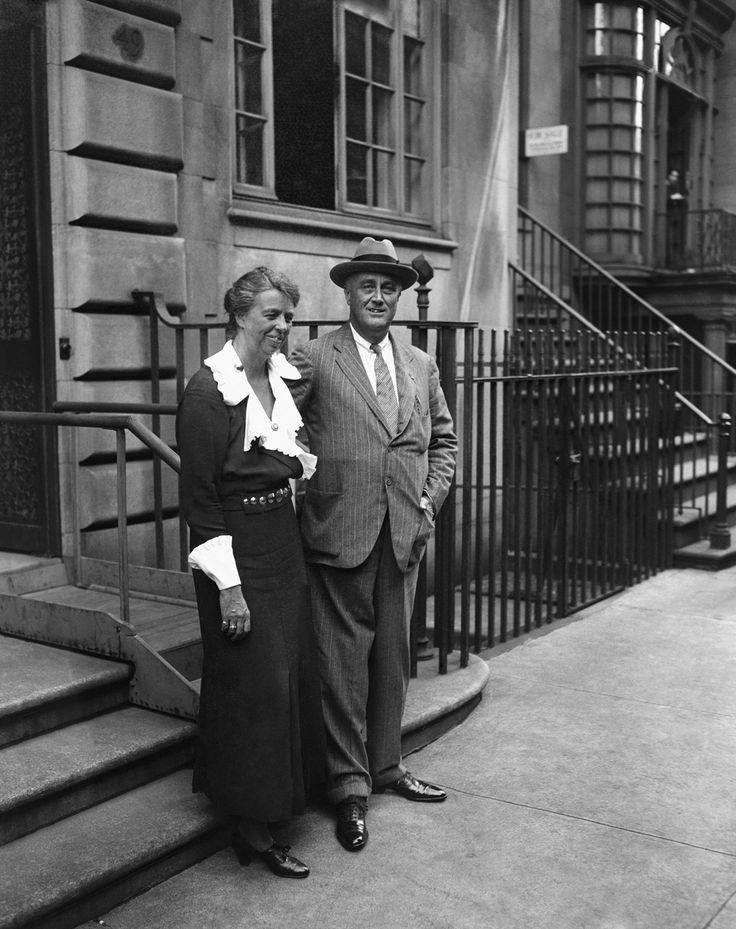 Fdr Eleanor Roosevelt 65th Street 1933