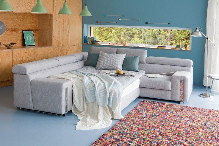 Kolekcja Barolo - ma funkcję spania i pojemnik na pościel.