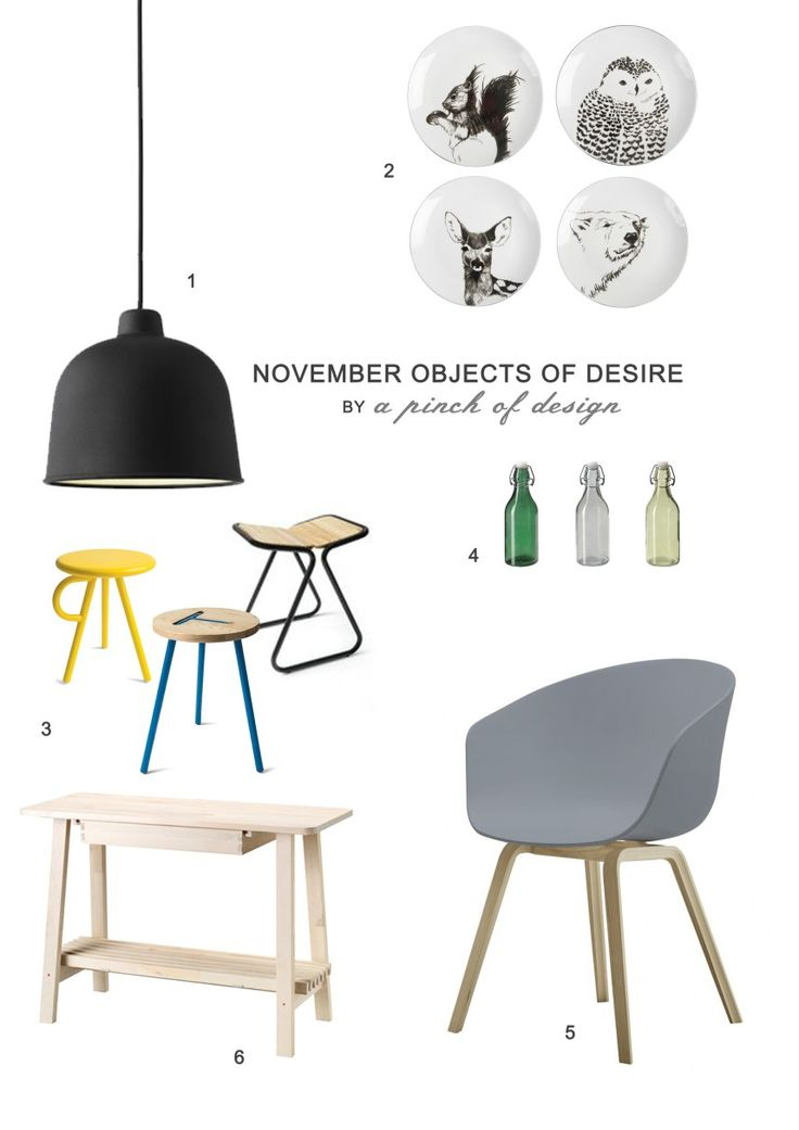 board / November Objects of Desire