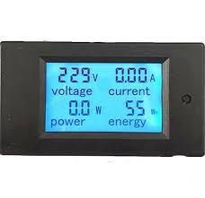 Výsledek obrázku pro Panelový volt ampérmetr