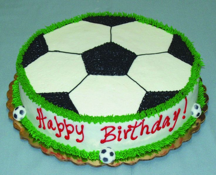 soccer birthday cake - Google Search