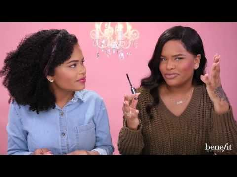 Benefit Mascara Review | Alissa Ashley & Arnell Armon - YouTube