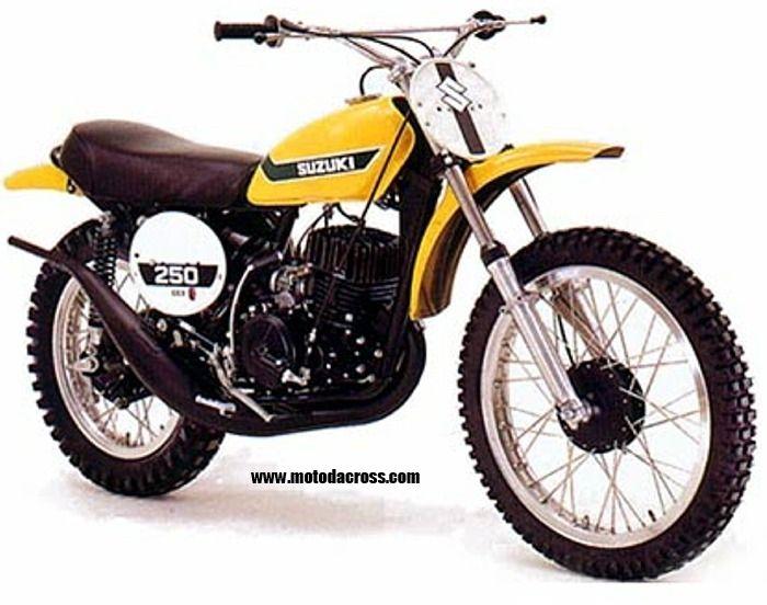 Suzuki Vintage Mx Bikes