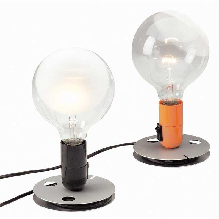 Lampadina lampe, svart - Flos - Flos - RoyalDesign.no