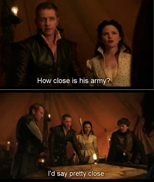 OUAT CHALLENGE DAY 10. It's hard to pick a funniest moment, but this one was funny. :D