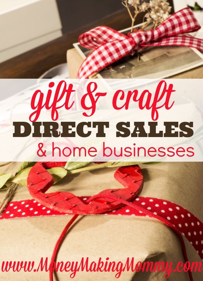 Love the idea of having your own gift basket business? Or how about sharing gift ideas with others including personalized gifts? You can! MoneyMakingMommy.com offers up a great list of Direct Sales Companies and home business opportunities that revolve around gifts and crafts.