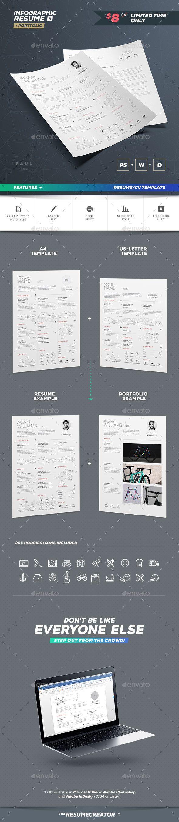113 best Resumes images on Pinterest   Cv resume template, Cv ...